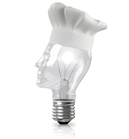 small lightbulb che