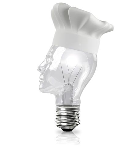 small lightbulb che